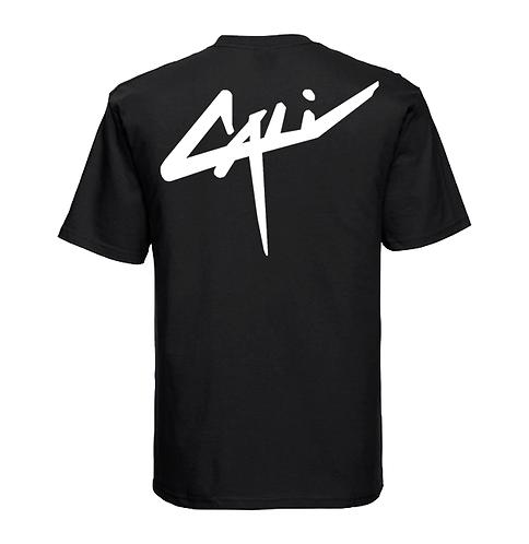 "T-shirt ""Back Cali"" Noir"