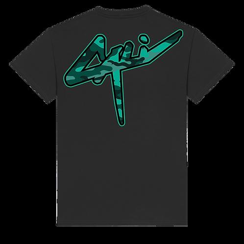 T-shirt Cali x Camo Green
