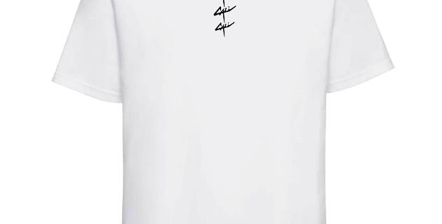 "T-shirt Cali ""Triple"" Blanc"