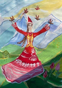Назарова Аделина, 8 лет