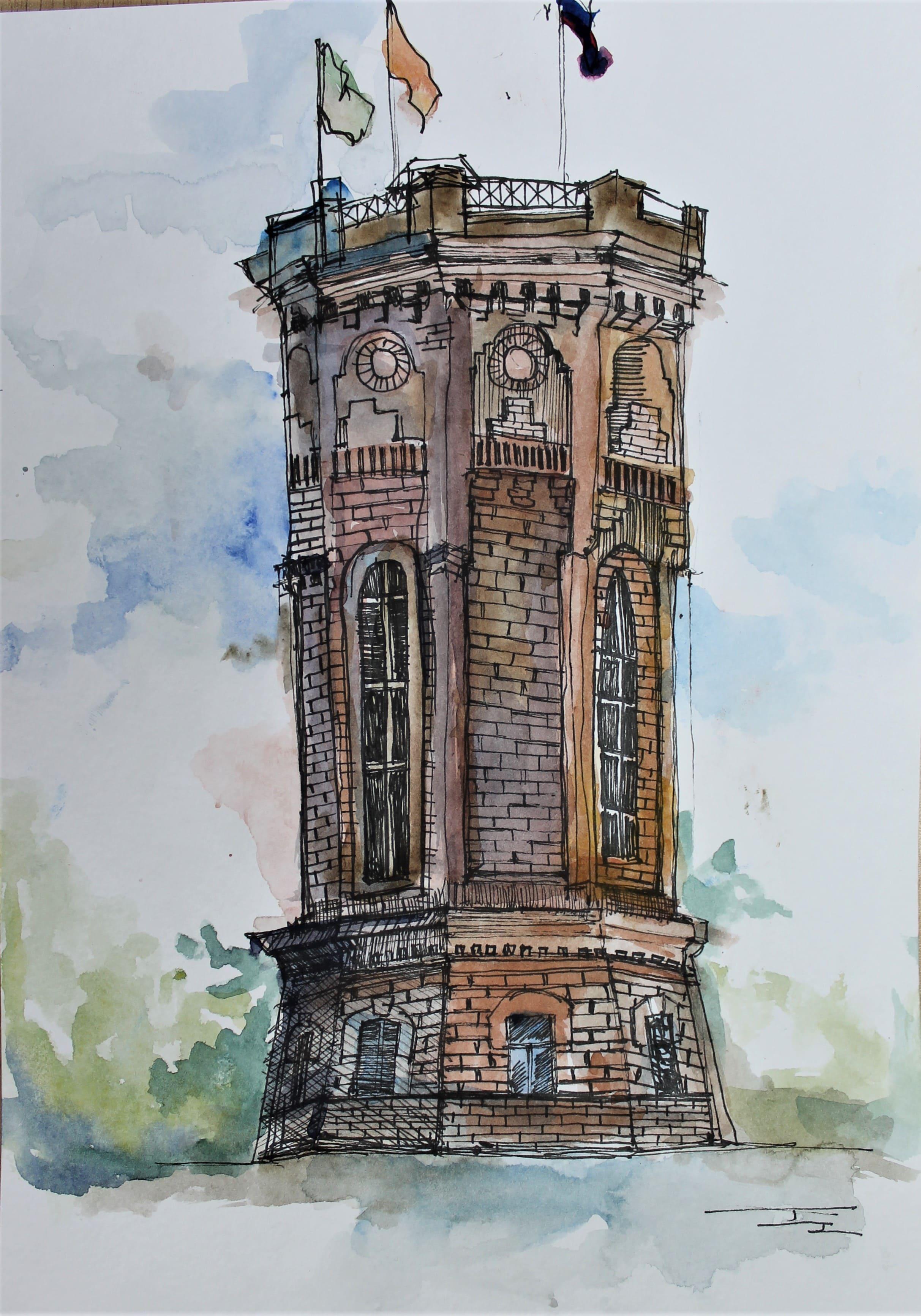 Чащина Дарья 14 лет Кирпичная башня