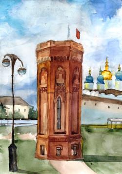 Ганюшкина Анна, 14 лет, Водонапорная баш