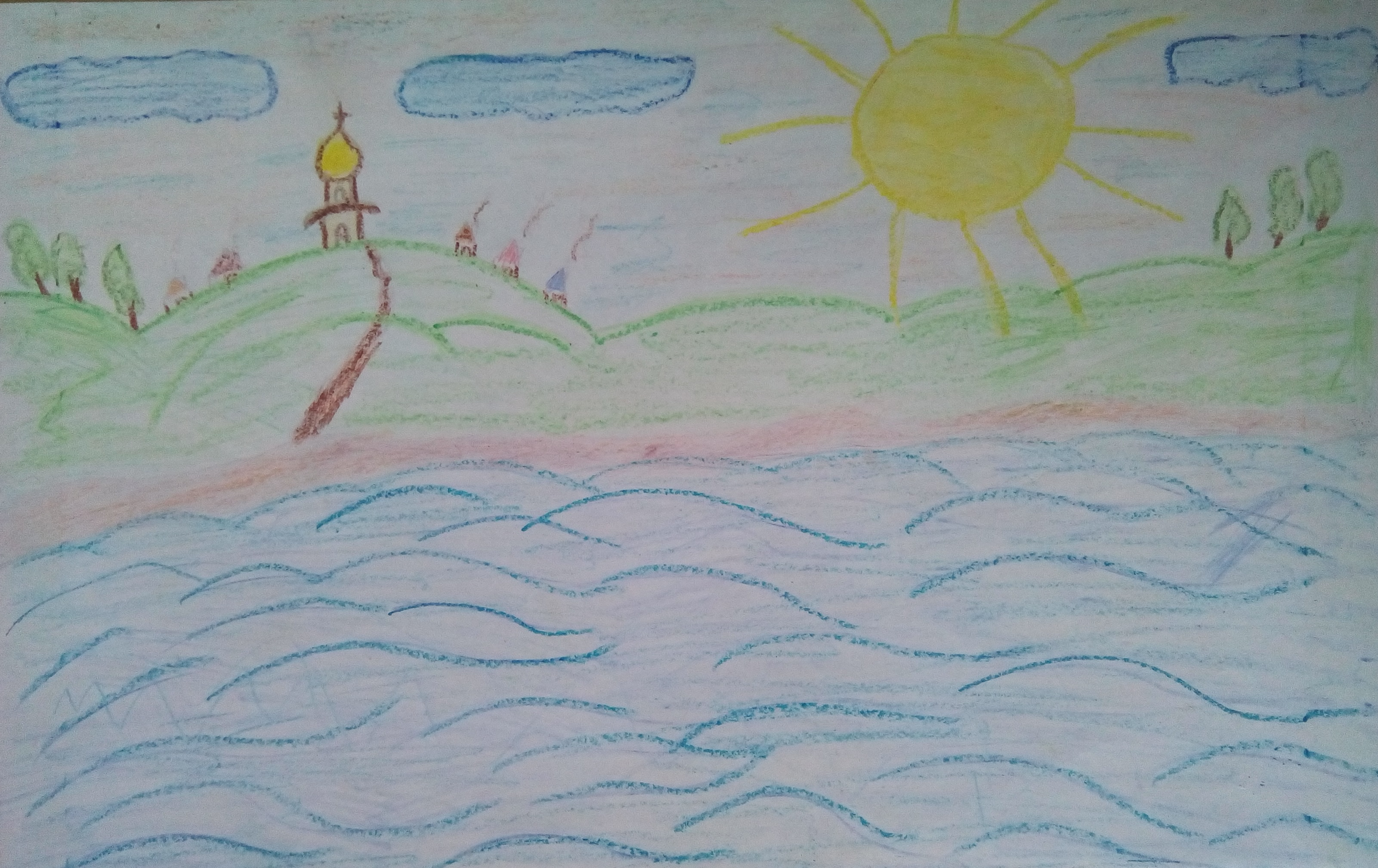 Дмитрий Амбаев, 6 лет