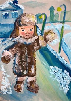 Дышлевская Кристина, 10 лет