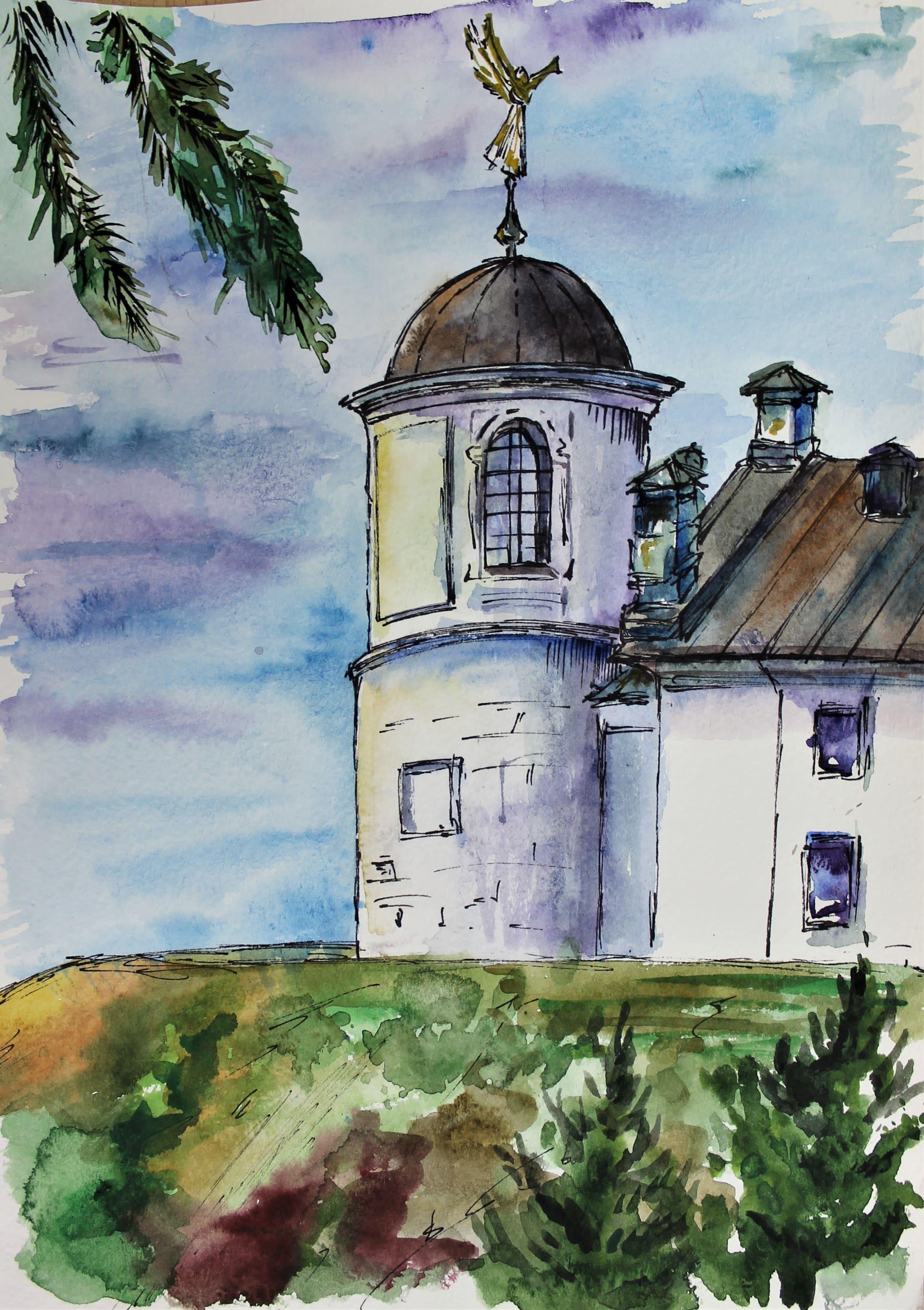 Исхакова Римма 14 лет Круглая башня