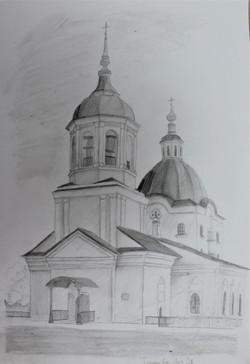 Глазачева Анна 15 лет Храм Петра и Павла