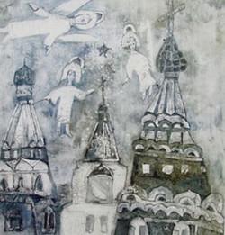 Сазанская Валерия 12л  -  Ангелы - ДХШ №