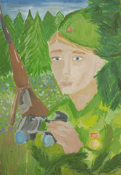 Сисанбаева Альбина,11 лет
