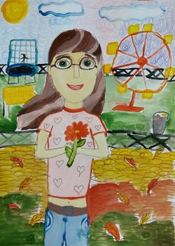 Шамаева Арина, 9 лет