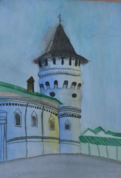 Дмитриева Ангелина 10 лет «Башня Тобольс