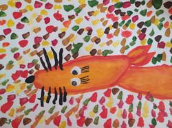 Канивец Милена, 8 лет, Осенняя лиса