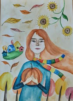 Лушова Алина, 14 лет