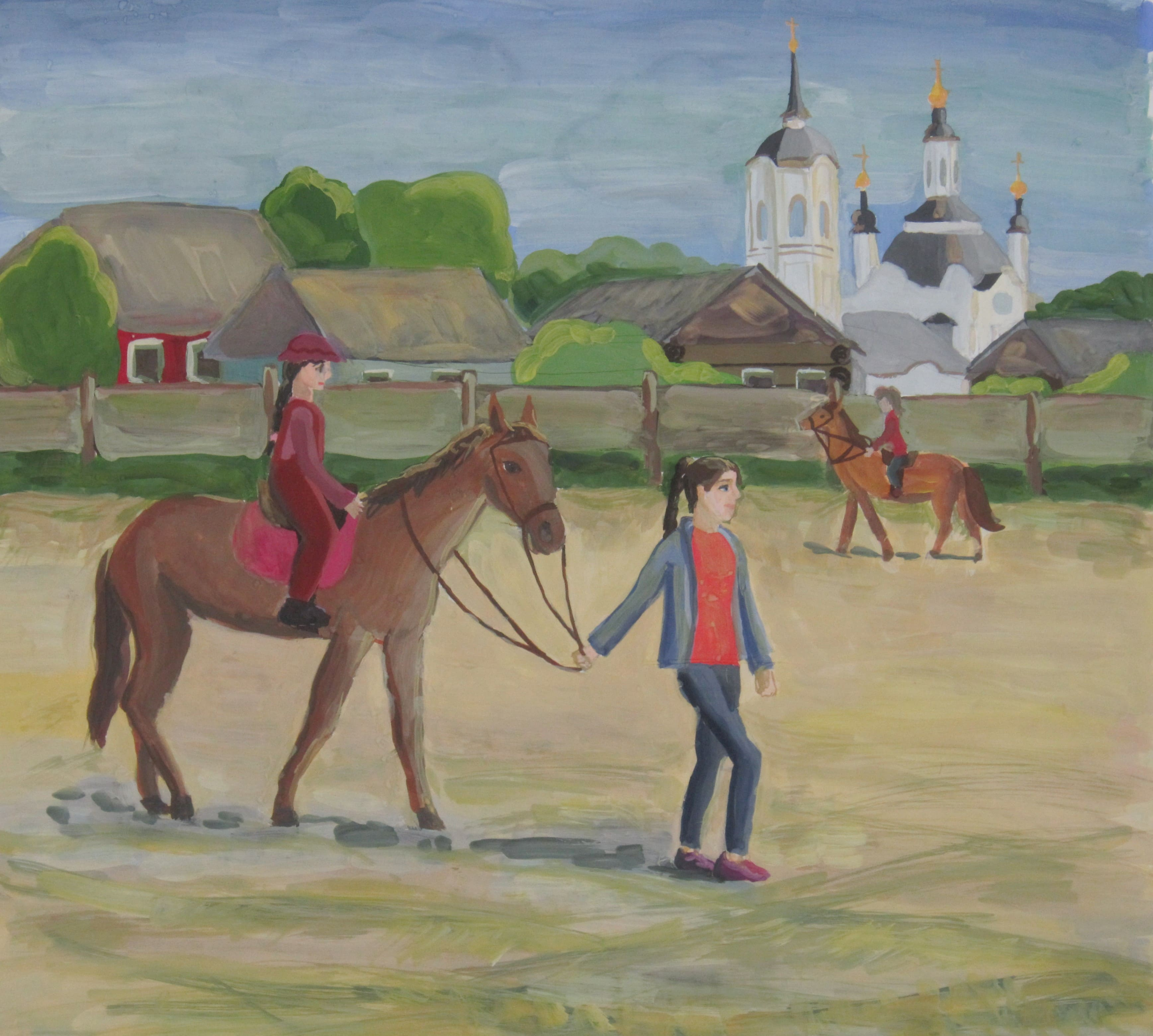 Яковлева Лилия, 12 лет