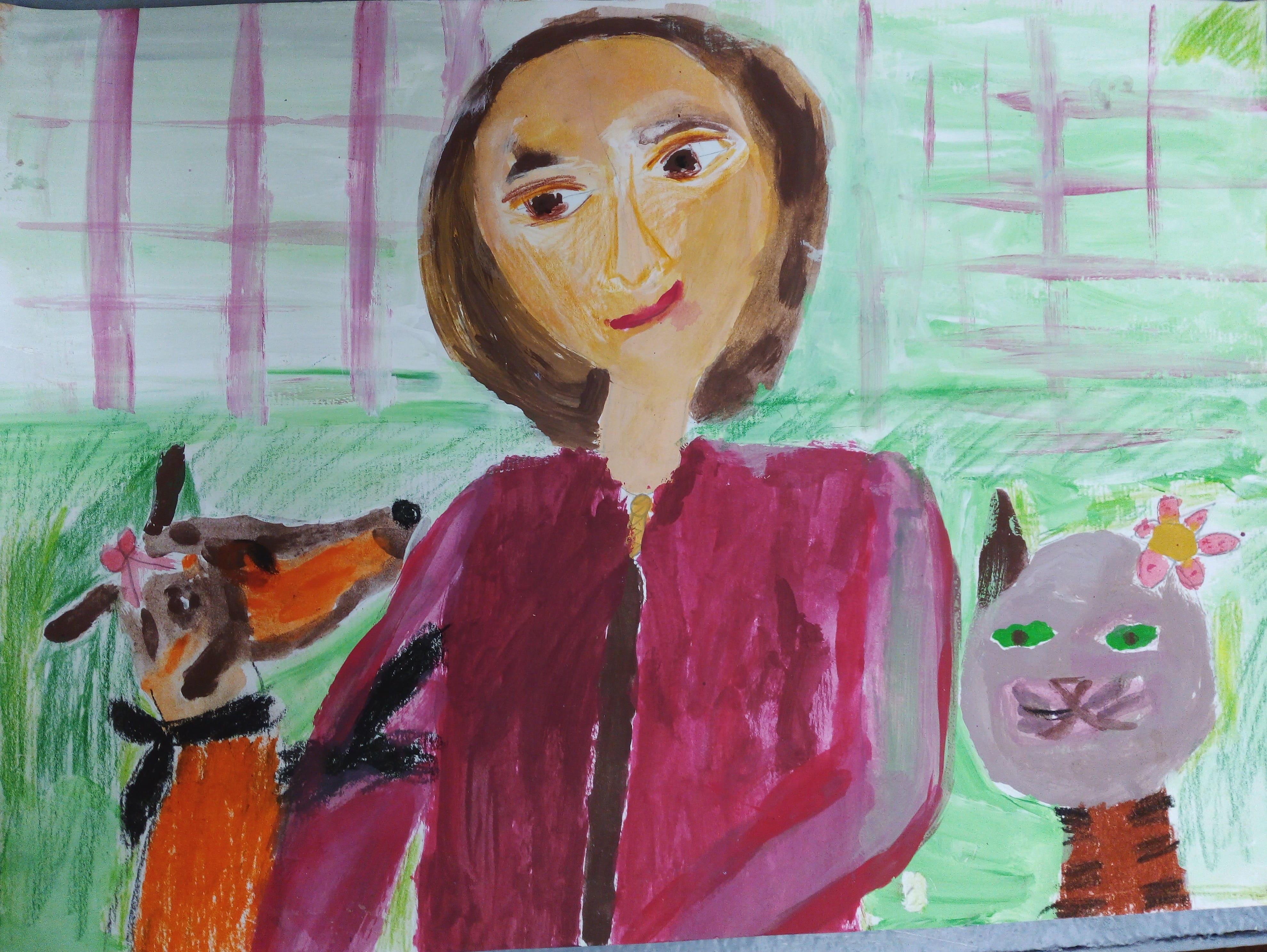 Таланкина Валерия 8 лет