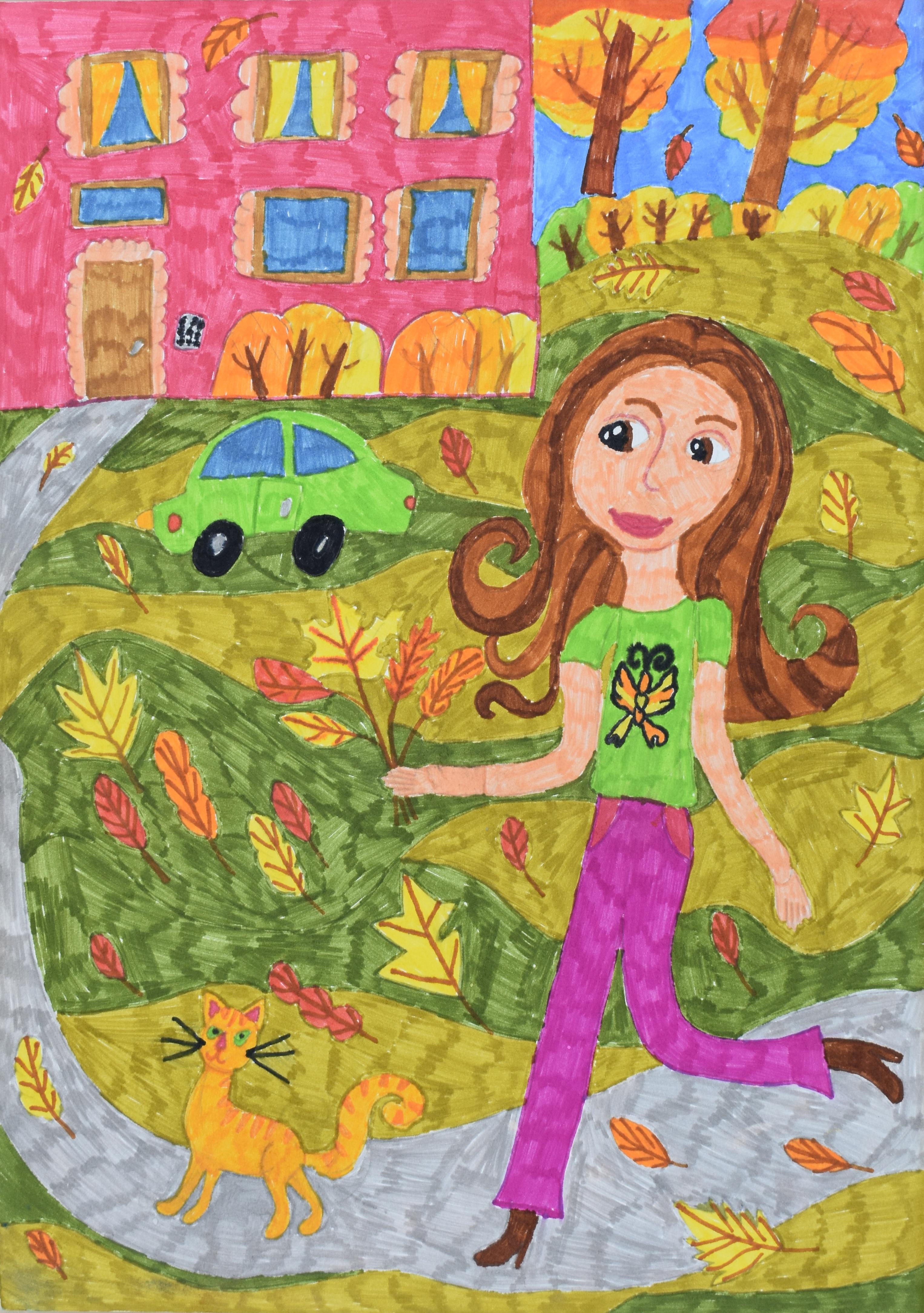 Шапкина Мария, 9 лет