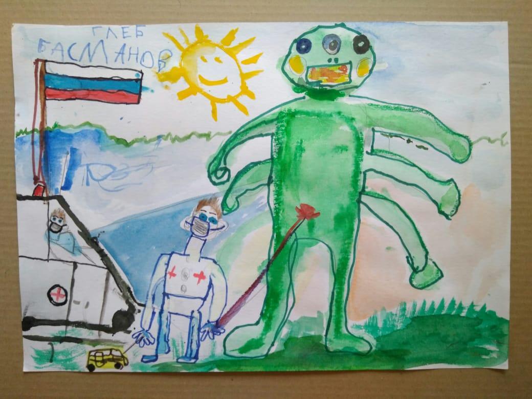 Басманов Глеб, 5 лет