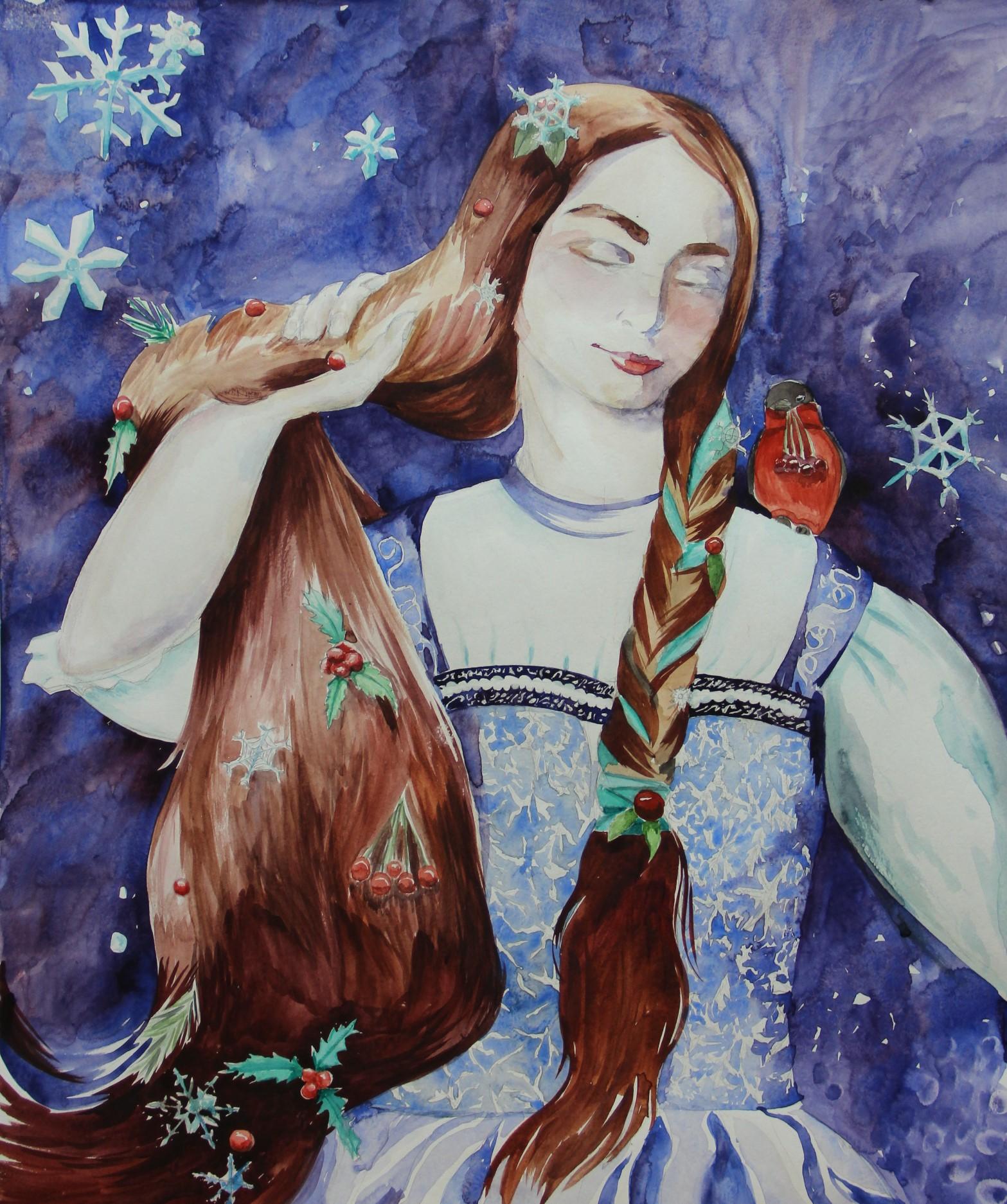 Гетманская Алина.14лет