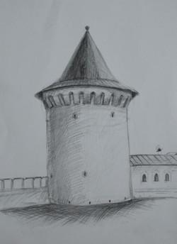 Молодых любовь, 13 лет. Орловская башня.