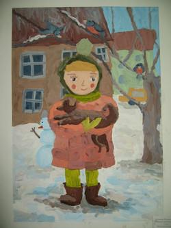 Уктамова Малика, 10 лет