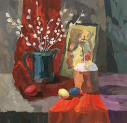 Бекиш Дарья, 14 лет. Пасхальный натюрморт