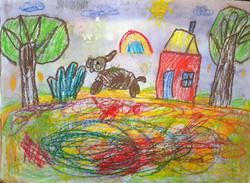 Степанова Ульяна, 7 лет, ''В лесу''