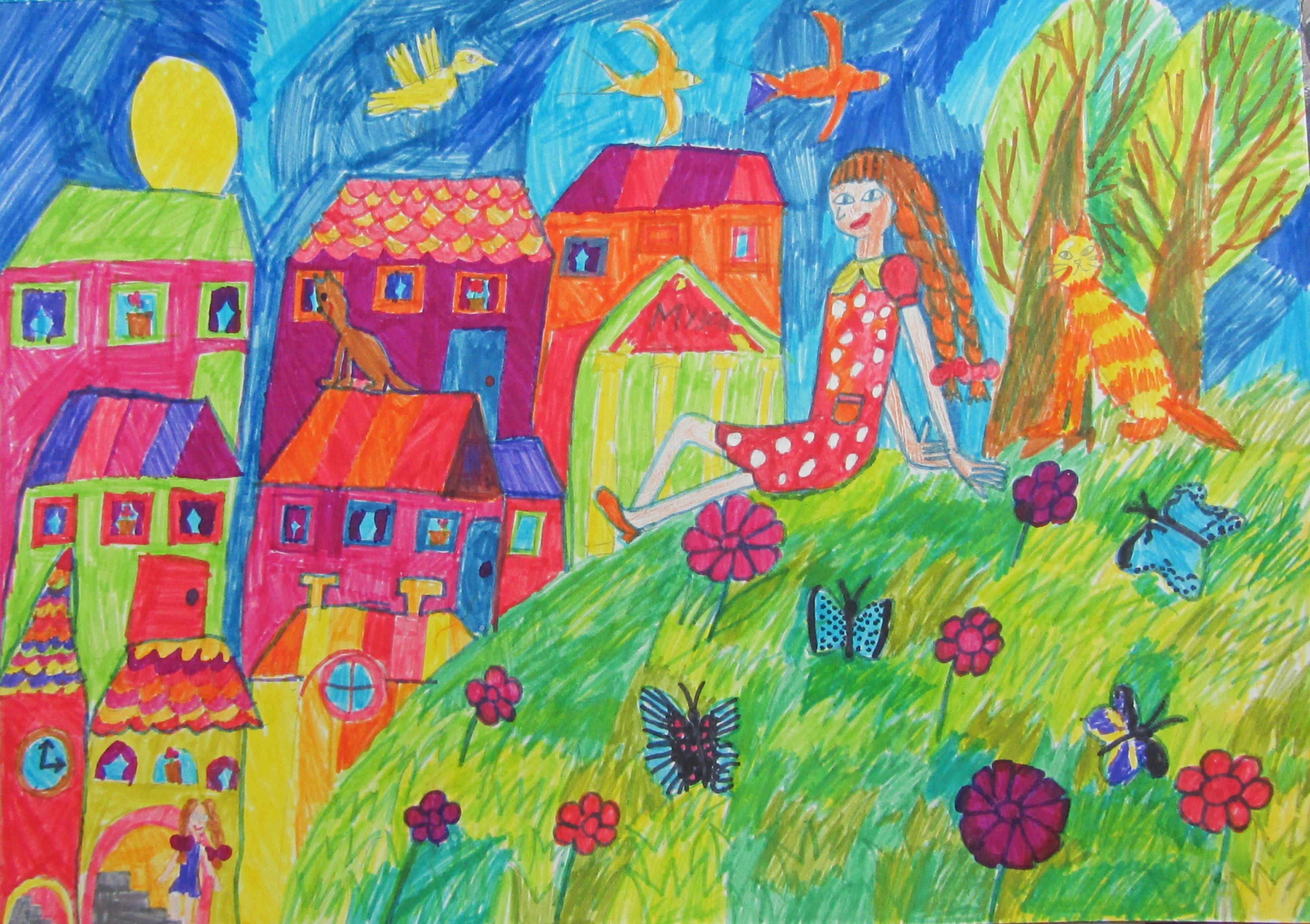 Жалбэ Стефания, 8 лет