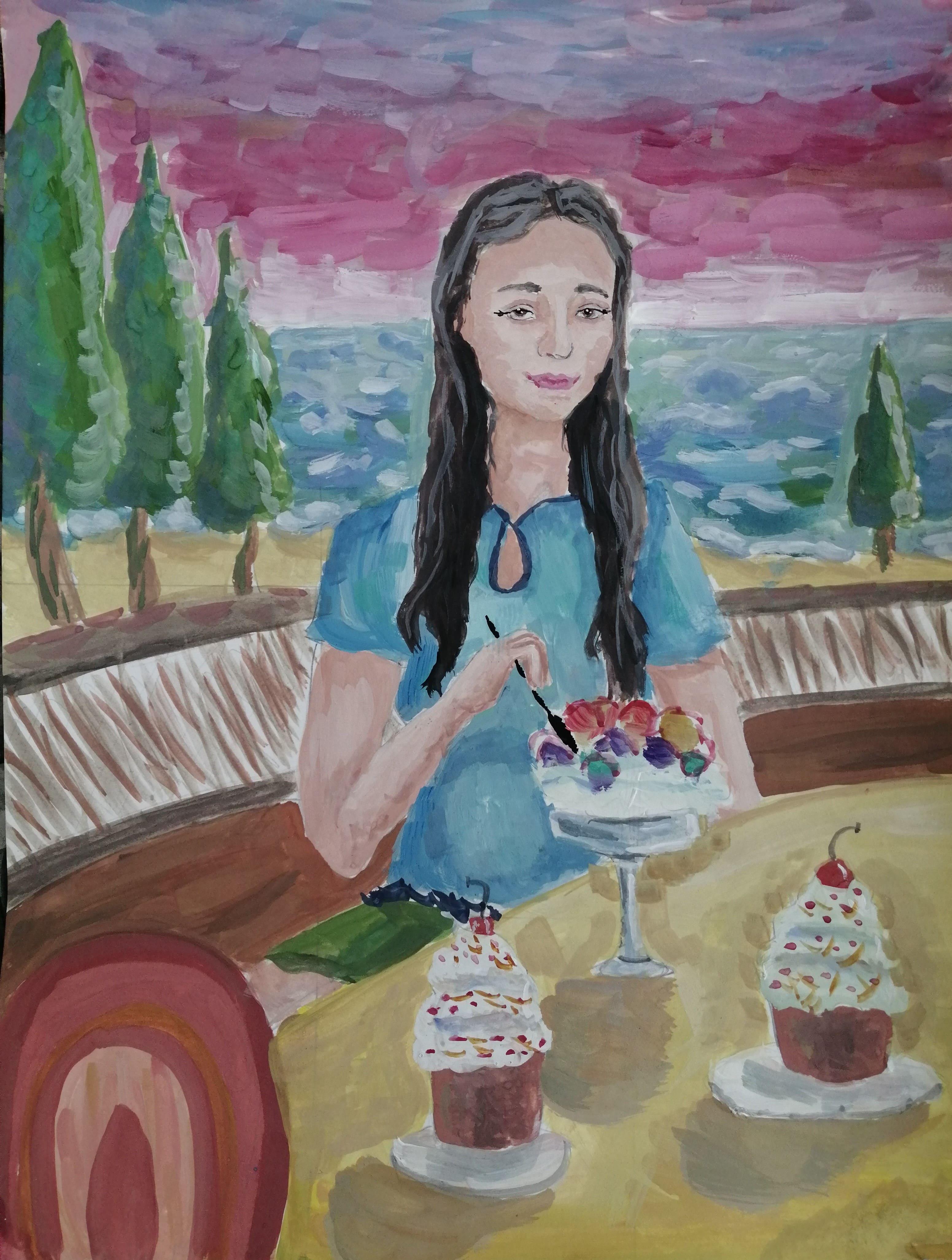 Заврина Полина 12 лет