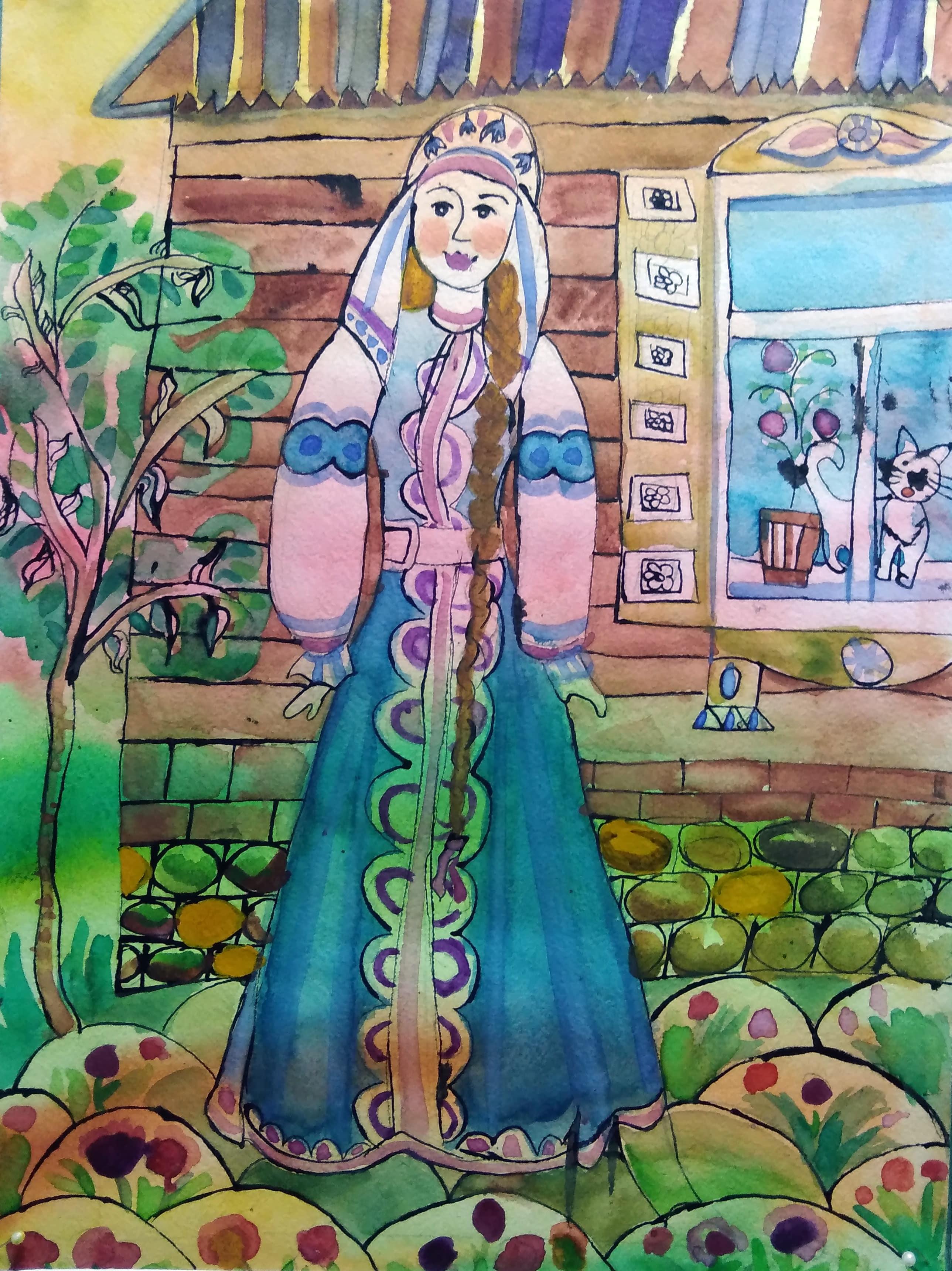 Абдульмянова Полина, 12 лет