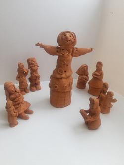 коллективная работа 3 класс керамика