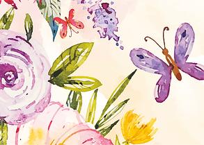 Пархающие бабочки и цветы банер 3-min.pn