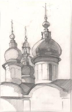 Саргина В. Купола Софийского собора 1