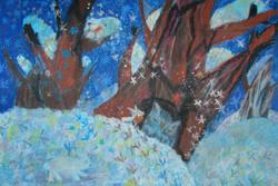 Гузанов Дмитрий 7 лет. В зимнем лесу
