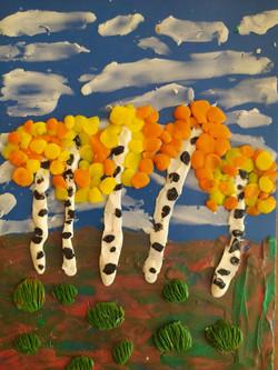 Канивец Милена, 8 лет, Осень-художница