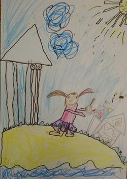 Шеломенцева Дана, 5 лет