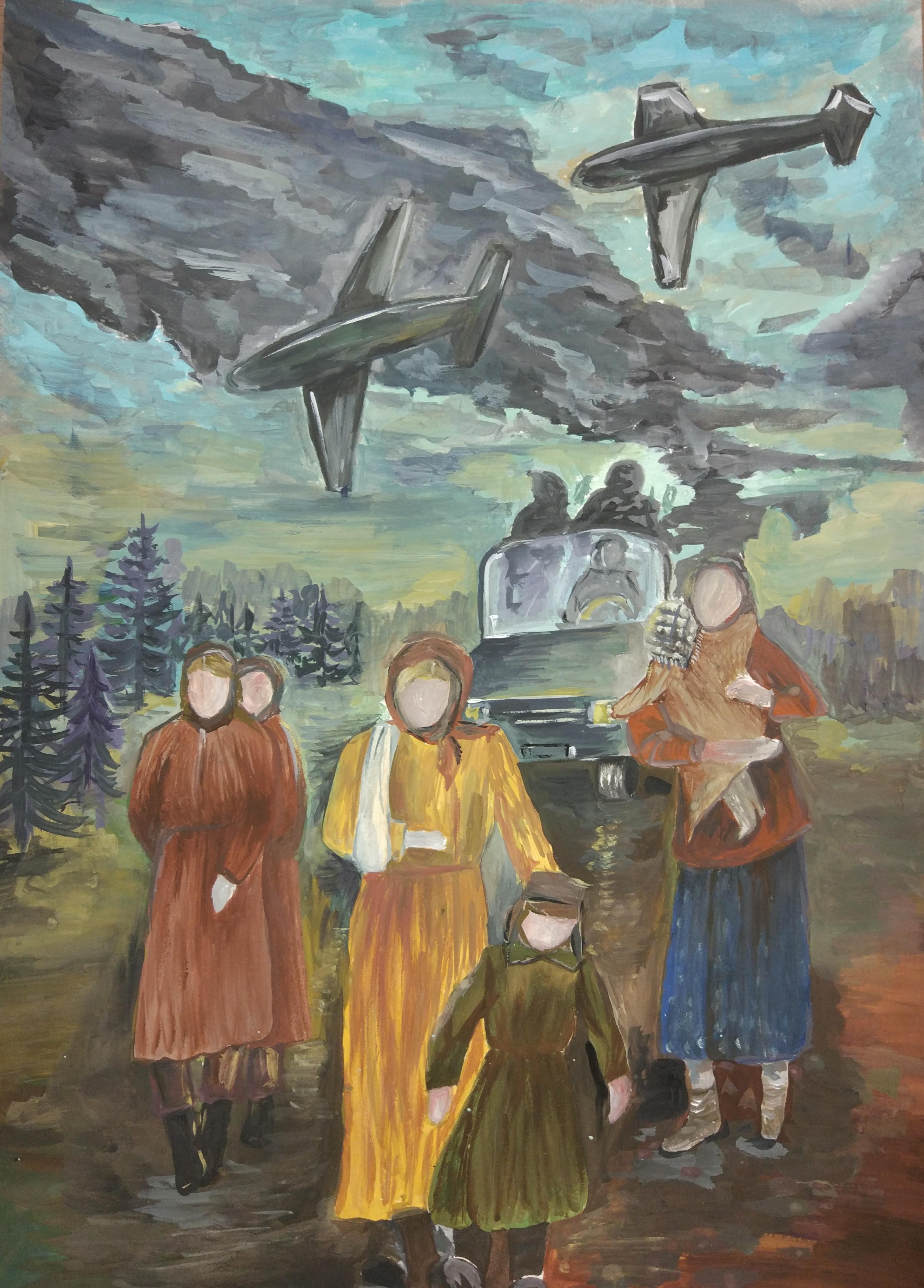 Талашманова Мария,  15 лет