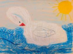 Янчурина Сабрина, 8 лет, ''Лебедь''