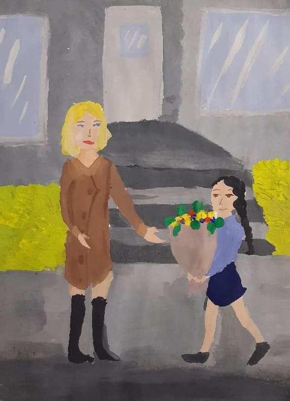 Беркимбаева Алина, 12 лет