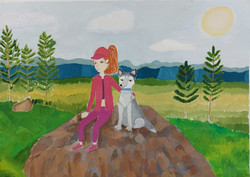 Копылова Полина,11 лет