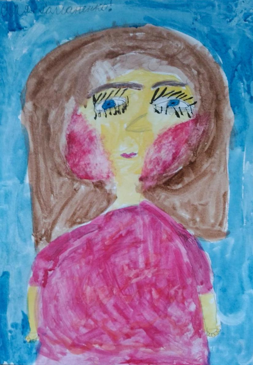 Романенко Оля 7 лет