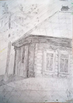 Лепёхин Сергей 12 лет Старый дом
