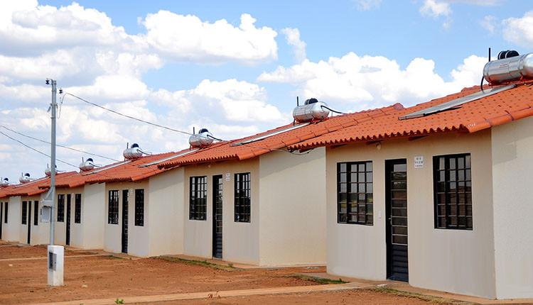 Casas do Minha Casa Minha Vida