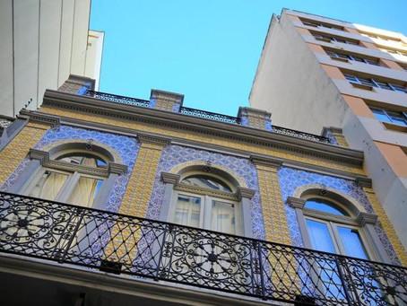 Restaurado sobrado do século XIX em Porto Alegre