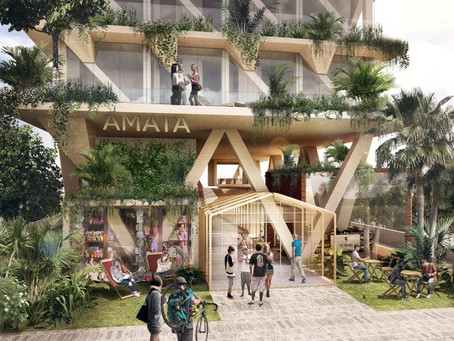 Triptyque projeta edifício que será construído totalmente com madeira certificada