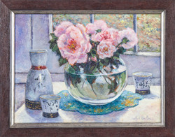 """""""ROSES BY THE WINDOW"""""""