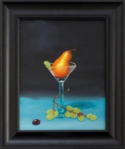 """""""Pear In Wineglass"""