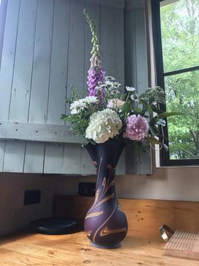 Wild flowers from garden