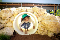 Nature Play Rock Tunnel