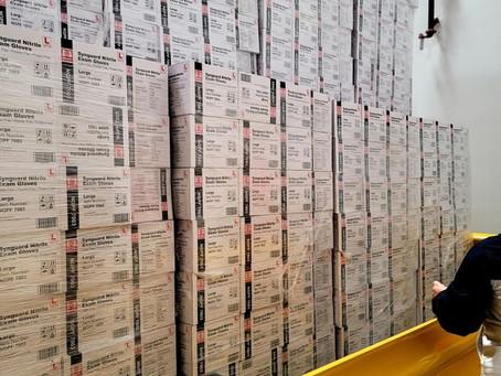 Nitrile Examination Glove: SynGuard OTG LA 1.6 million boxes August 16, 2021