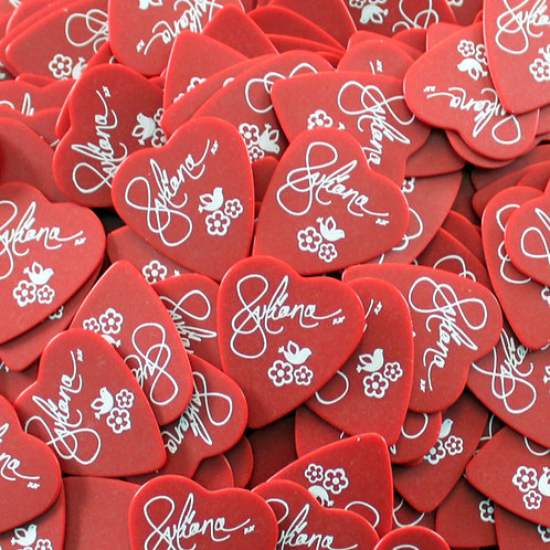 Juliana Hale Signature Heart Guitar Picks