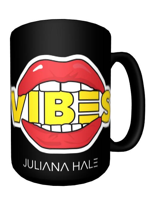 I Eat Vibes Breakfast Mug